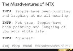 myersbriggs, intx, intp, mbti, intj Pinterest is making me wish I had an INTJ friend. As my humour seems to be lost on everyone but my INFJ sister.