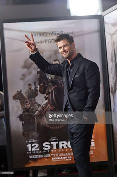 Actor Chris Hemsworth attends the '12 Strong' World Premiere at Jazz at Lincoln Center on January 16, 2018 in New York City.