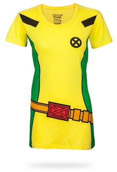 I NEED THIS because, hello, Rogue and Gambit are the best X-Men ever. I'm still sad that they can never really make out. ThinkGeek :: I Am Rogue Babydoll