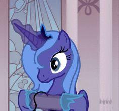 (Anim) Gamer Luna is best Luna.