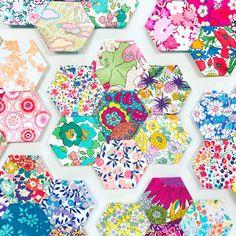 "200 Half Hexagons 3/"" HIVE PAPER PIECES English Paper Piecing EPP Quilt Templates"