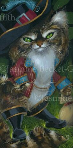 Puss in Boots by Jasmine Becket-Griffith