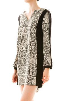 Tiffany Print Dress. $68; CovetSF.com. FREE shipping on orders $50+.