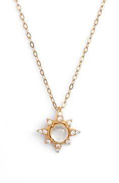 nadri holiday star pendant necklace