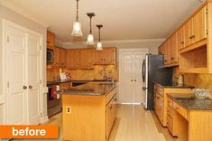 Before & After: A Kitchen Gets a Dramatic Transformation with Paint & Hardware Under $700   Apartment Therapy