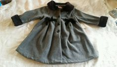 Sophie Rose gray and black bow dressy coat Brand new with tags Size 4 girls in Clothing, Shoes & Accessories, Kids' Clothing, Shoes & Accs, Girls' Clothing (Sizes 4 & Up) | eBay