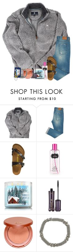 """disclaimer: in the Christmas collection a lot of the items are not the same brand as what I received so if it has like an 1000$ price tag or something it's not the exact item "" by legitmaddywill ❤ liked on Polyvore featuring Birkenstock, Victoria's Secret, tarte, M&Co and Vera Bradley"