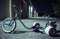 Tortuga Gas Powered Trikes