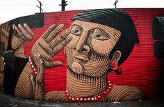 Street art | Mural (Los Angeles, USA) by Nunca