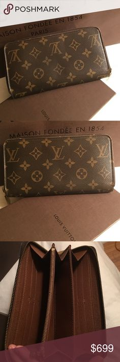 💯% Authentic Louis Vuitton Zippy Wallet 💯% Authentic Louis Vuitton Zippy Wallet in excellent condition. Comes with box, no dust bag. Date code is CA0089. 8 slots for cards, zipper compartment for change, a place for currency on both sides, plus a few other long compartments for misc items. Hardware is in great condition. There is a little fading on the main zipper but other than that the wallet is in excellent condition. Zipper is closes & opens very smooth. ❌TRADES❌ Serious buyers only…