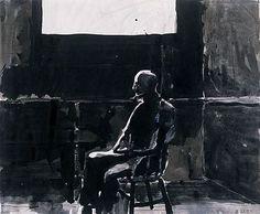 Richard Diebenkorn; ink