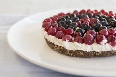This no-bake patriotic tart is so easy to whip up that the kids could do it!