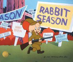 Elmer Fudd....what season is it?