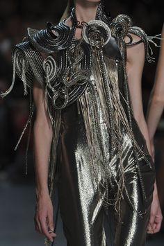 STYLING fashion art :: Manish Arora for Paco Rabanne Spring/Summer 2012 Detail