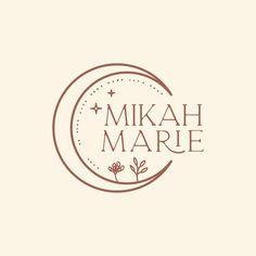 Artist Logo, Artist Branding, Logo Lune, Logo Photographe, Logo Branding, Branding Design, Mystic Logo, Inspiration Logo Design, Hipster Photography