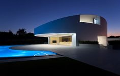 A beautiful residential property constructed using Krion
