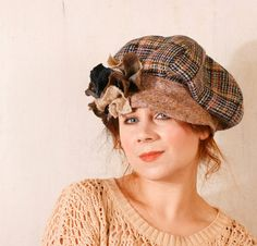 Plaid Flannel hat