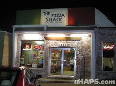 the pizza shack: jackson, ms... great for sitting on the deck with friends