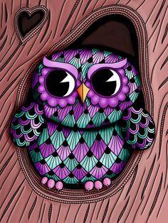 Michelle Bowden - owl