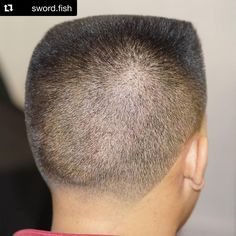 """11 Me gusta, 1 comentarios -  Flattop Haircut  (@flattophaircut) en Instagram: """"#BackView  #Repost @swordofabarber with @repostapp ・・・ Another angle of the flat top i got to do…"""""""