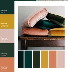 color palette inspiration wedding color palette v&; color palette inspiration wedding color palette v&; Pantone, Velvet Pillows, Yellow Pillows, Bedroom Colors, Bedroom Green, Jewel Tone Bedroom, Bedroom Color Palettes, Bedroom Color Schemes, Yellow Bedrooms