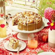 Rezept: Apfel-Rosenkuchen