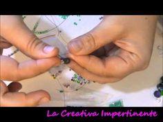Tutorial laccetti per occhiali e scatoline regalo (eyeglasses necklace bag) - YouTube