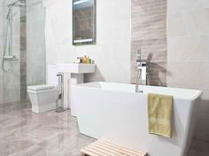 white tile shower ideas | ... Bathroom Tiles Designs Can Help You Deciding the Best One with white