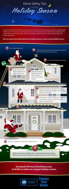 Holiday Safety Tips #infographic