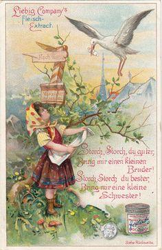 Liebig Serie Arnold 404/S. 571, Kinderreime III, 1898