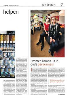 Newspaper Het Parool, October 2011