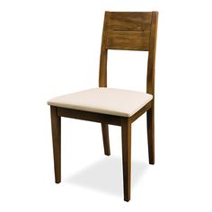 £39.95 Upholstered Dining Chair in Faux Leather  Wooden Bistro Chairs  Bistro Chairs  Chairs  Home  ChairsGB
