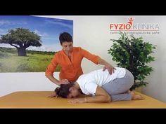 Automobilizace krční páteře a napřímení hrudní páteře - YouTube Knee Exercises, Back Pain Relief, Pilates, Health Fitness, Victoria, Yoga, Workout, Youtube, Relax