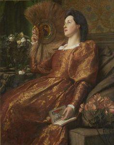 Sir William Blake Richmond - Charlotte Elizabeth Fuller