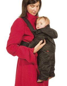 Beebyhart Fleece Lined & Waterproof Baby Carrier Cover