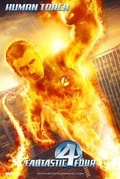 Human Torch (Fantastic Four, Fantastic Four Movie, Fantastic Four Marvel, Smallville, Tim Story, Michael Chiklis, Alexander Kent, Human Torch, Silver Surfer, American Comics