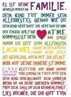 The Words, German Words, Attachment Parenting, Magic Words, Just Be You, Always Learning, Life Lessons, Feel Good, Quotations