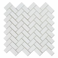 Premium (SELECT) Quality Greek THASSOS WHITE MARBLE 1 X 4 HERRINGBONE MOSAIC TILE POLISHED, Shower, Backsplash, Bathroom, Kitchen, Decorative, Floor, Wall, Ceiling, Powder Room, Deck & Patio, Countertop, Commercial and Residential (Interior & Exterior), Indoor, Outdoor