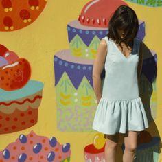 Robe Jade, kits Couture DIY patron et tissu - photoshoot - Louis Antoinette
