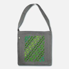 Footprint in der Wiese Schultertasche aus Recycling-Material Snapback Cap, Material, Recycling, Reusable Tote Bags, Design, Women Accessories, Gym Bag, Sachets, Bags