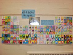 Look to Him and be Radiant: All Saints Day Art Project Catholic All Year, Catholic School, All Saints Day, Catholic Religion, Religious Education, Art Lessons Elementary, New Art, Art Projects, Crafts