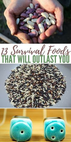 13 Survival Foods That Will Outlast You — If a regional or global disaster will hit tomorrow, do you have all the basics like food and water covered Survival Items, Urban Survival, Survival Food, Wilderness Survival, Outdoor Survival, Survival Prepping, Survival Skills, Survival Hacks, Prepper Food