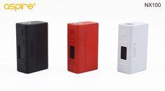 Køb Aspire NX100 TC Mod Drevet af Enkelt 26650/18650 Batteri, Aspire fra Dampden.com altid fri fragt. Top kvalitets produkter