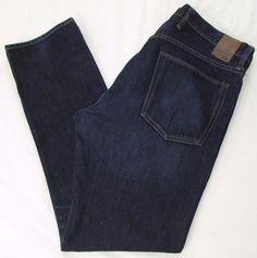 Men Gap 1969 Jeans Standard Taper Dark Resin Classic Rise sz 36 X 34 #GAP #ClassicStraightLeg