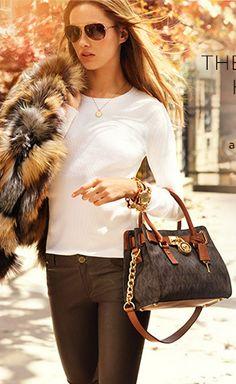addeb1ead6e7 MK Hamilton my purse in mini hehe Michael Kors Outlet