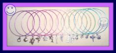Bangles with charms by Purrwoof on Etsy, $1.00