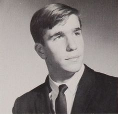 """Henry Winkler (""""The Fonz"""") about a decade before he became the epitome of cool -- McBurney High School, New York, NY, 1963"""