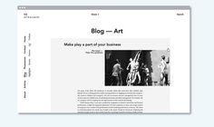 SCENARIO magazine -website on Behance