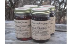 Nantucket Beach Plums & Cranberries--the taste of the island.