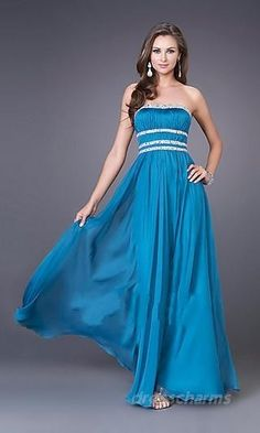 Shopping for Chiffon Strapless Beading Ruching High Waist A-line Prom Dress in Our Prom Dresses Shop Strapless Prom Dresses, Prom Dresses Blue, Cheap Prom Dresses, Prom Party Dresses, Pretty Dresses, Homecoming Dresses, Dresses For Sale, Bridesmaid Dresses, Dress Prom
